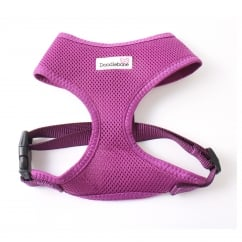 Airmesh Padded Dog Harness Purple Large