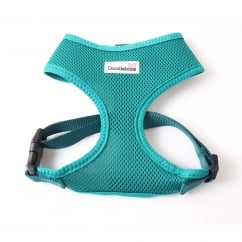 Airmesh Padded Dog Harness Teal Small