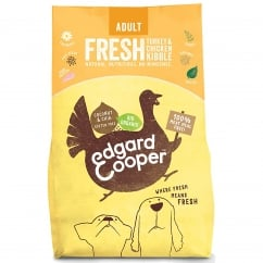 Organic Fresh Turkey & Chicken Adult Dog Food 2.5kg