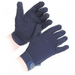 Elico Cotton Gloves - Black