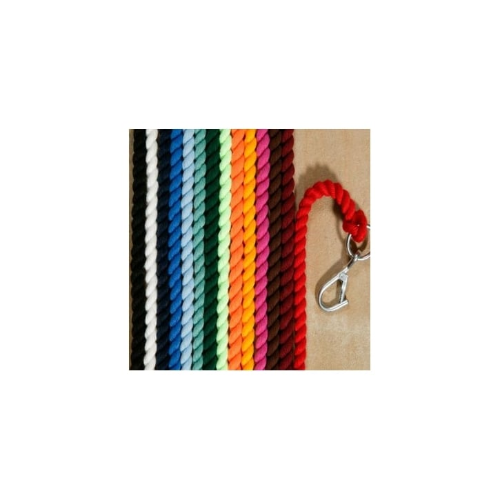 Elico Plain Headcollar Lead Rope Brown