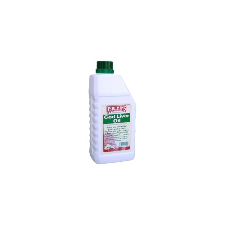 Equimins Cod Liver Oil For Horses 1ltr