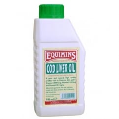 Equimins Cod Liver Oil For Horses 500ml