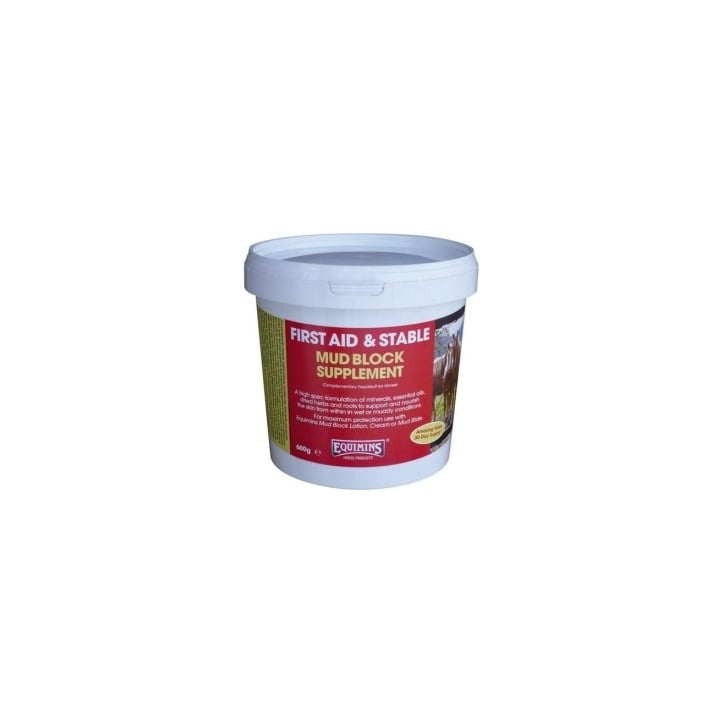 Equimins First Aid & Stable Mud Block Supplement 600g