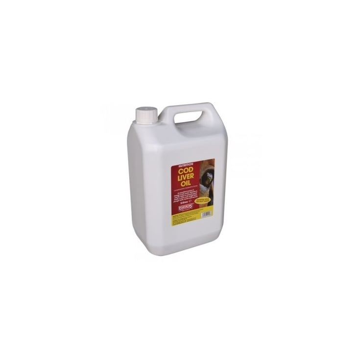 Equimins Horse Products Cod Liver Oil for Horse 5ltr
