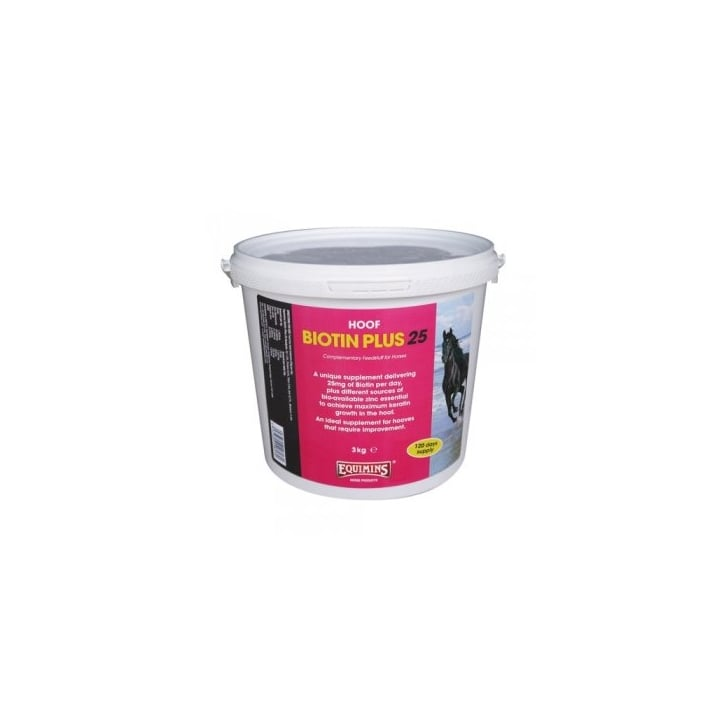 Equimins Horse Products Horse Biotin Plus 25 3kg