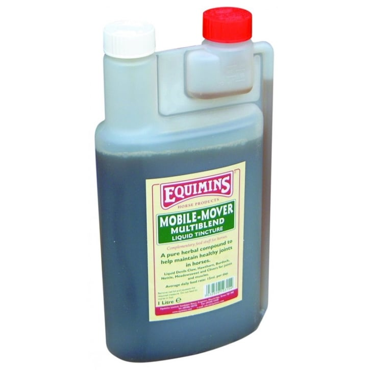 Equimins Horse Products Mobile-Mover Multiblend Herbal Liquid for Horses 1ltr