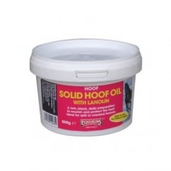 Horse Solid Hoof Oil With Lanolin 500g