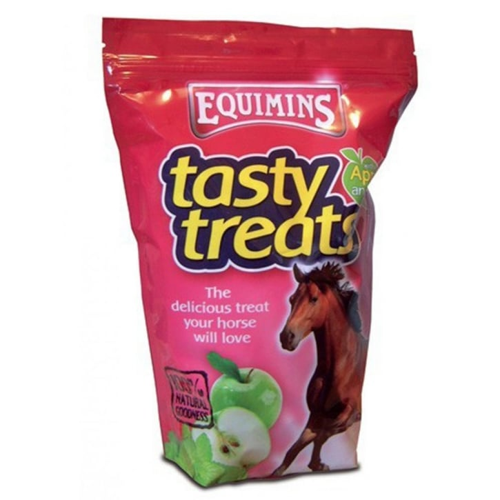 Equimins Horse Tasty Horse Treats with Apple & Mint 2.5kg Eco Pack