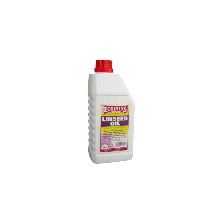 Equimins Linseed Oil for Horses 1ltr
