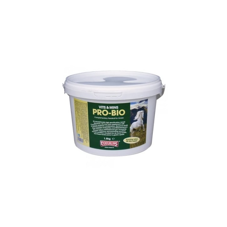 Equimins Pro-Bio Probiotic Horse Supplement 1.5kg