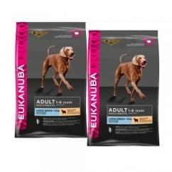 Adult Large Breed Dog Food With Lamb & Rice 2 x 12kg