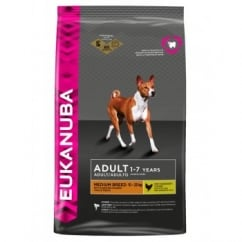 Adult Medium Breed Dog Food with Chicken 12kg