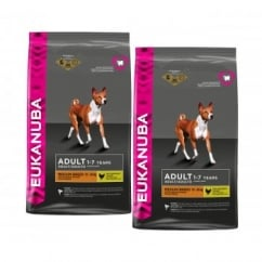 Adult Medium Breed Dog Food With Chicken 2 x 12kg