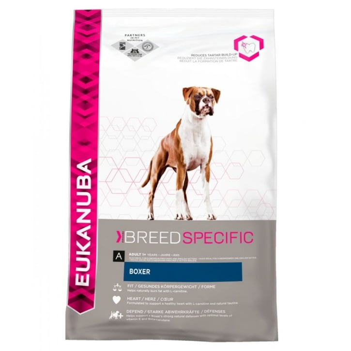 Eukanuba Boxer Adult Dog Food with Chicken 12kg