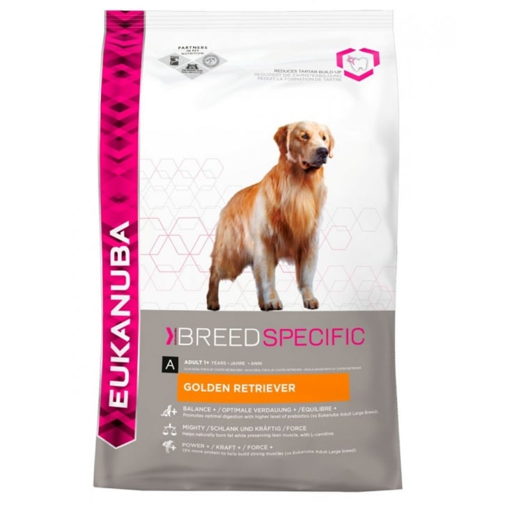 Eukanuba Breed Nutrition Golden Retriever Dog Food with Chicken 2.5kg