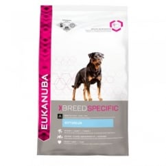 Breed Nutrition Rottweiler Dog Food With Chicken 12kg