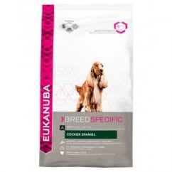 Eukanuba Cocker Spaniel Adult Dog Food With Chicken 2.5kg