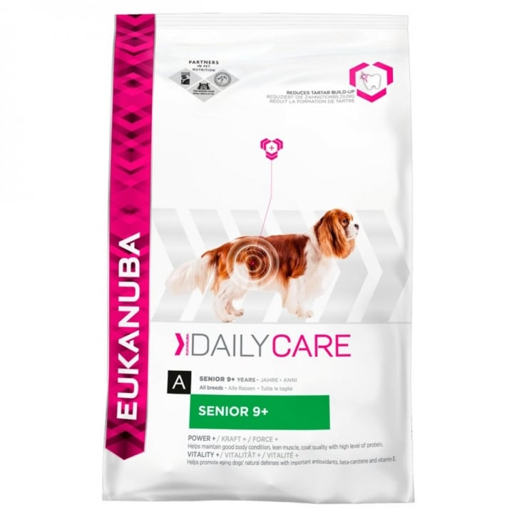 Eukanuba Daily Care Senior 9+ Dog Food with Chicken 12kg