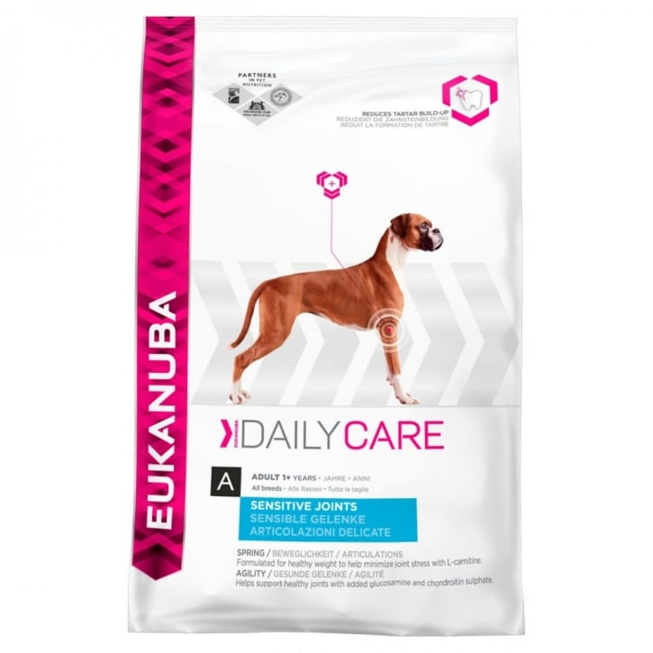 Eukanuba Daily Care Sensitive Joints Adult Dog Food with Chicken 12.5kg