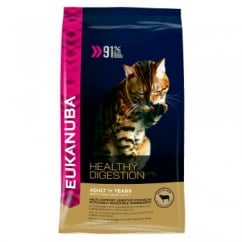 Eukanuba Healthy Digestion Adult Dry Cat Food Rich in Lamb 400g