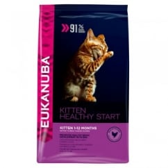 Eukanuba Healthy Start Kitten Dry Cat Food Rich in Chicken 2Kg