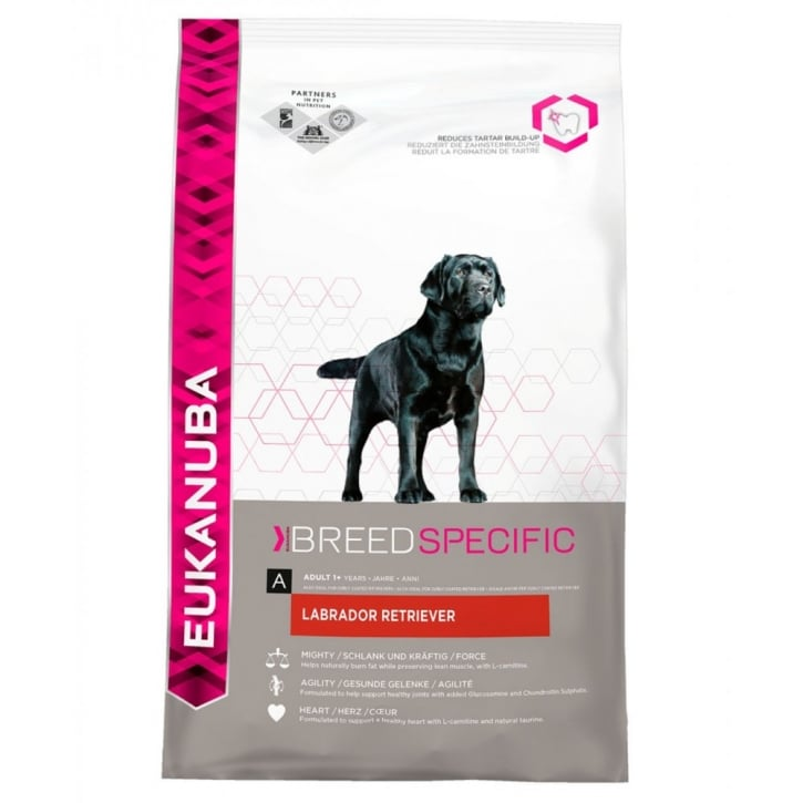 Eukanuba Labrador Retriever Adult Dog Food with Chicken 12kg