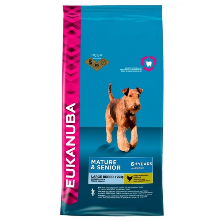 Eukanuba Mature & Senior Large Breed Dog Food with Chicken 12kg