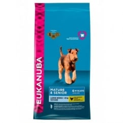 Mature & Senior Large Breed Dog Food with Chicken 12kg
