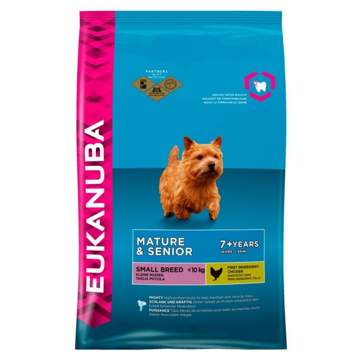 Eukanuba Mature & Senior Small Breed Dog Food With Chicken 3kg