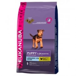 Eukanuba Puppy & Junior Large Breed Dog Food With Chicken 3kg