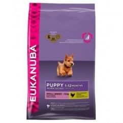 Puppy & Junior Small Breed Dog Food With Chicken 3kg