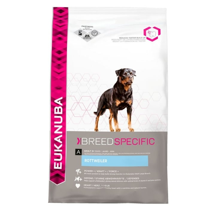 Eukanuba Rottweiler Adult Dog Food With Chicken 2.5kg