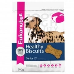 Eukanuba Senior Healthy Biscuits Dog Treats For All Breeds 200g