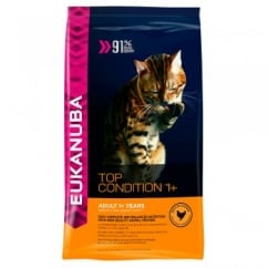 Eukanuba Top Condition 1+ Adult Dry Cat Food Rich in Chicken 400g