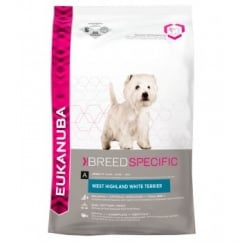 Eukanuba West Highland White Terrier Adult Dog Food with Chicken 2.5kg