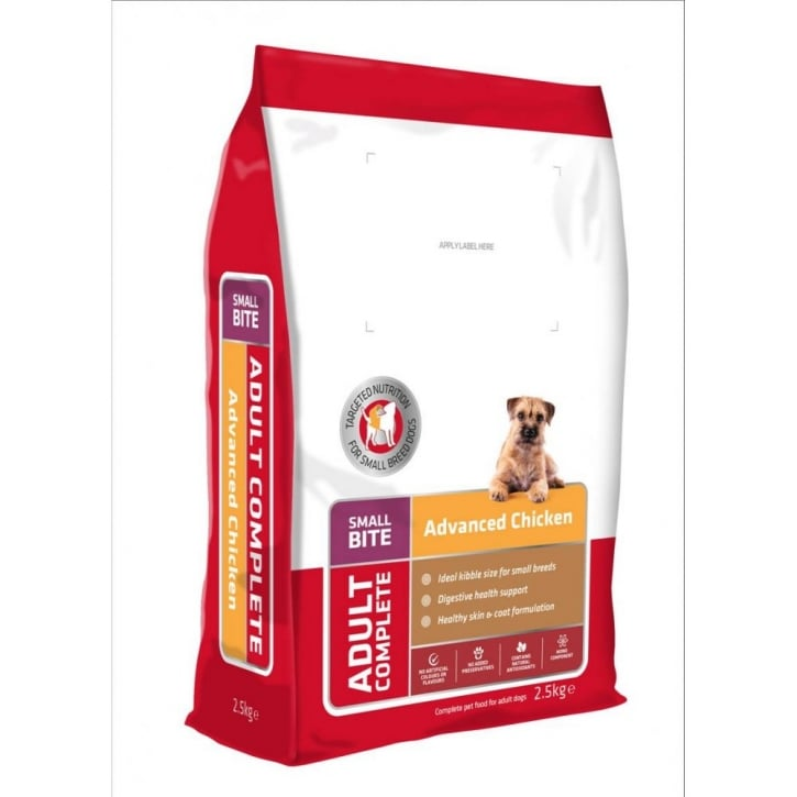 Feedem Advanced Nutrition Small Breed Adult Dog Food Chicken 2.5kg