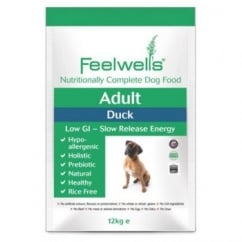 Feelwells Complete Adult Dog Food Duck 12kg