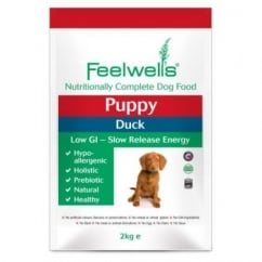 Feelwells Complete Puppy Dog Food Duck 2kg