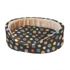 Ferplast Dandy 55 Cotton & Fur Soft Dog Bed Size 55x41x15cm