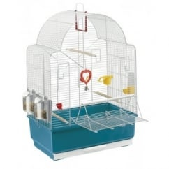 Ibiza Open White Regular Bird Cage