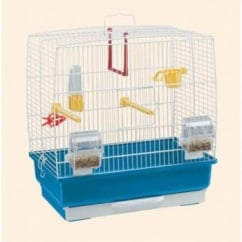Rekord 2 Small Bird Cage White