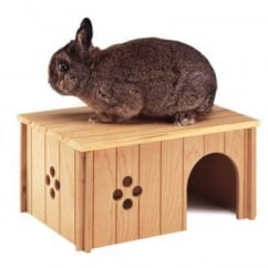 Ferplast Sin Wooden Rabbit House 4647 Extra Large