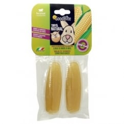 Ferplast Tiny & Natural Rodent Treat Corncob Pack2