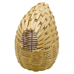 Ferplast Wicker Nest Basket for Small birds