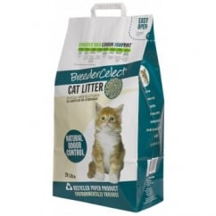 FibreCycle Breeder Celect Cat Litter 20 Litre approx 8kg