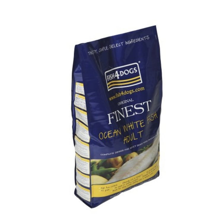 Fish4Dogs Finest Adult Dog Food Small Bite Ocean White Fish 1.5kg