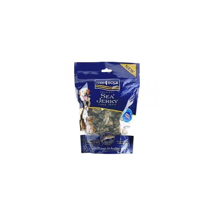 Fish4Dogs Sea Jerky Tiddlers Dog Treats 100gm