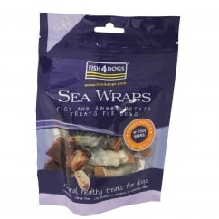 Sea Wraps Sweet Potato Dog Treats 100g