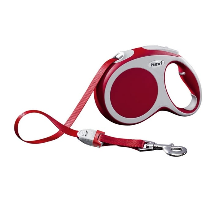 Flexi Vario Large Tape Dog Lead 5 Metres Red